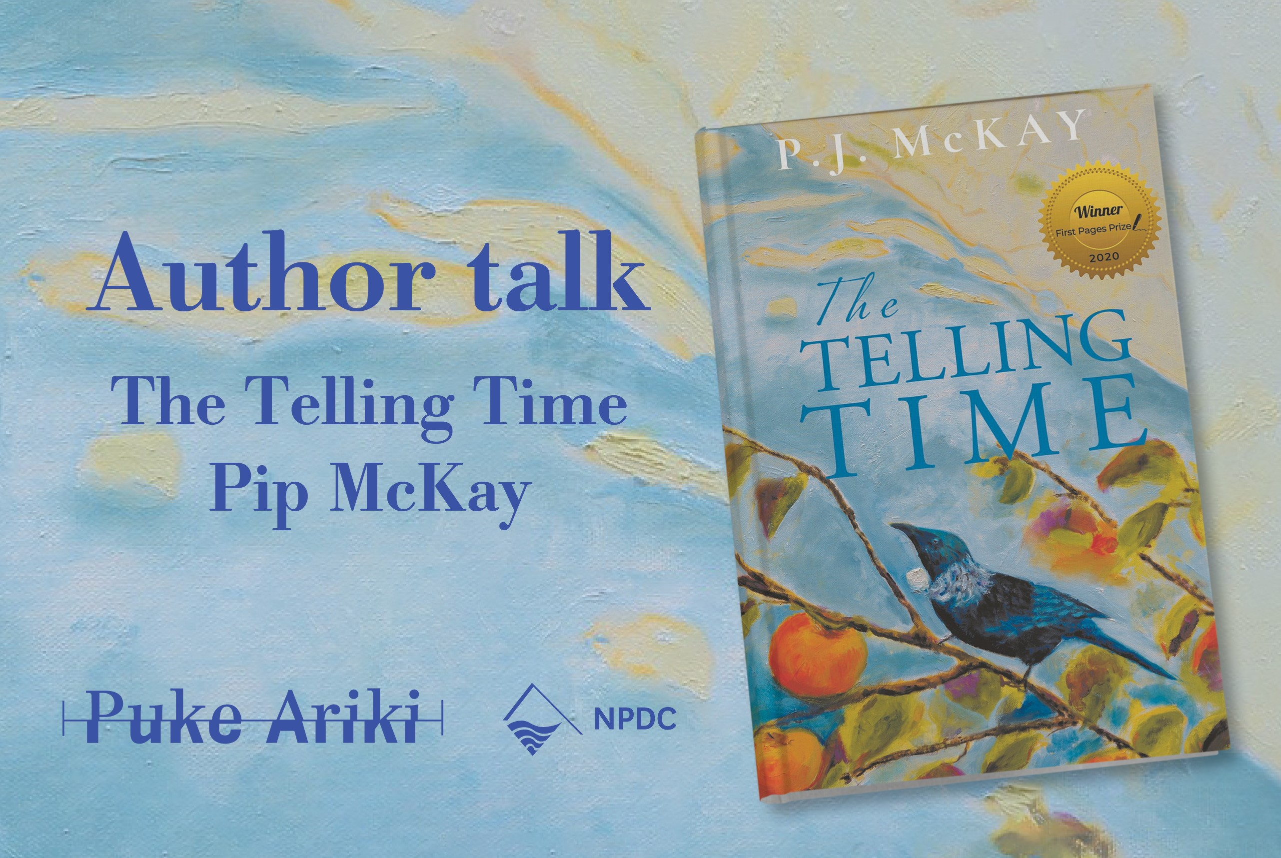 Author Talk with Pip McKay
