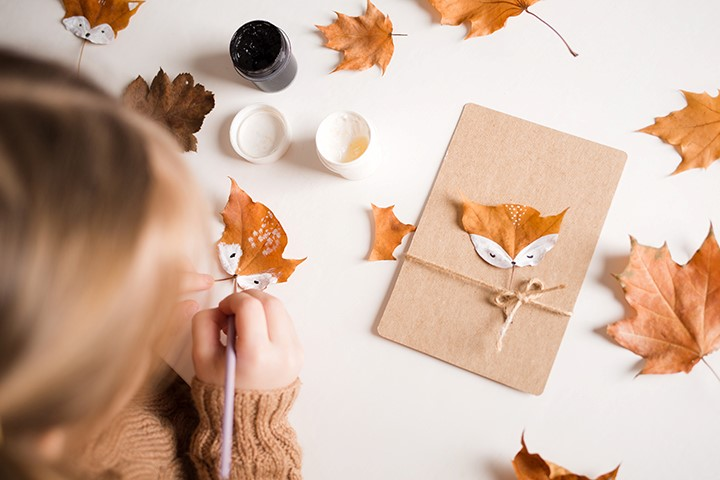 Autumn Crafts at Inglewood Library