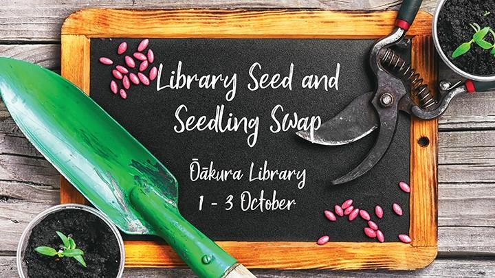 Library Seed and Seedling Swap - Ōākura Library