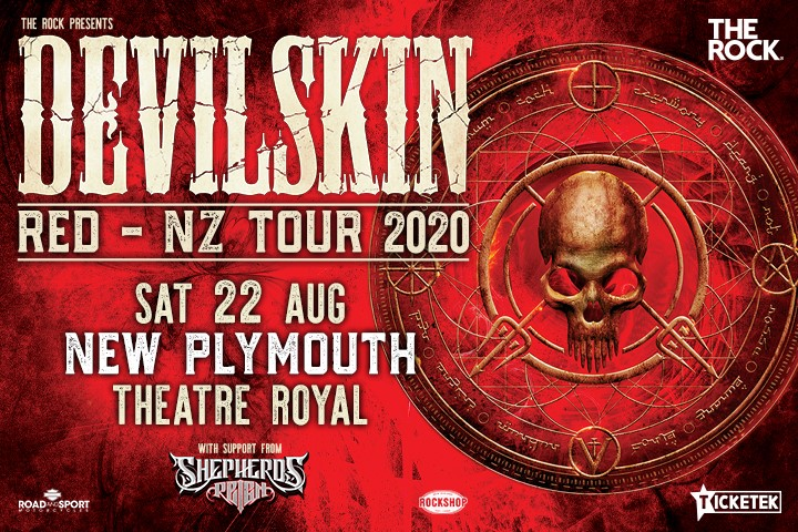 Devilskin-Red NZ Tour